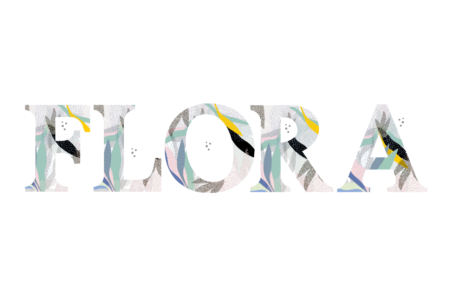 Flora Font example image 1