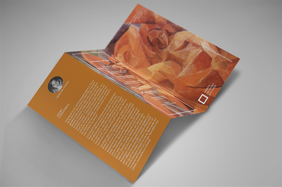 Art Exhibition Brochure example image 4