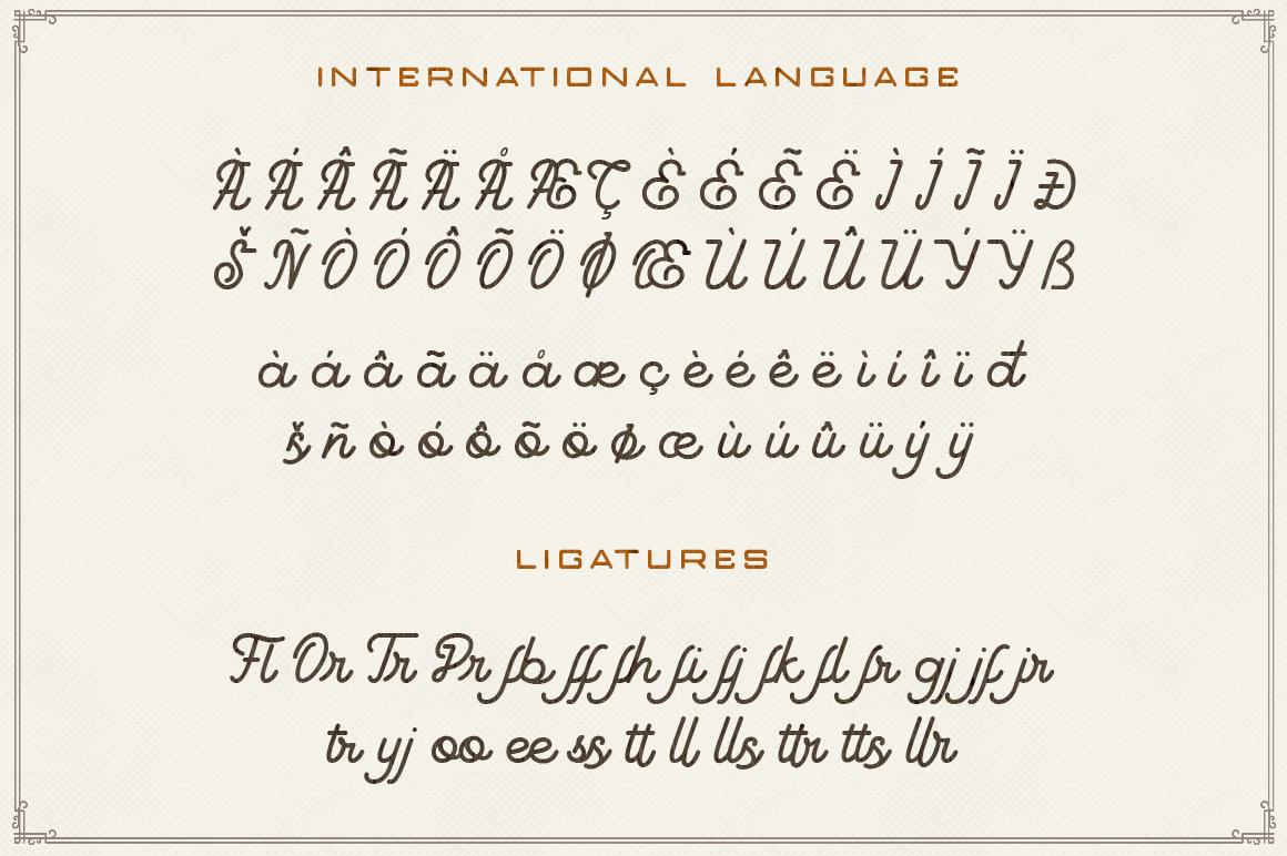 Goodline - Monoline Font + Extras example image 5