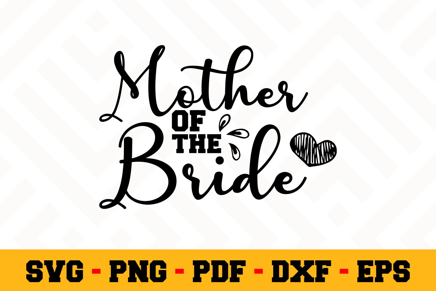 Bride SVG Design n634 | Wedding SVG Cut File example image 1