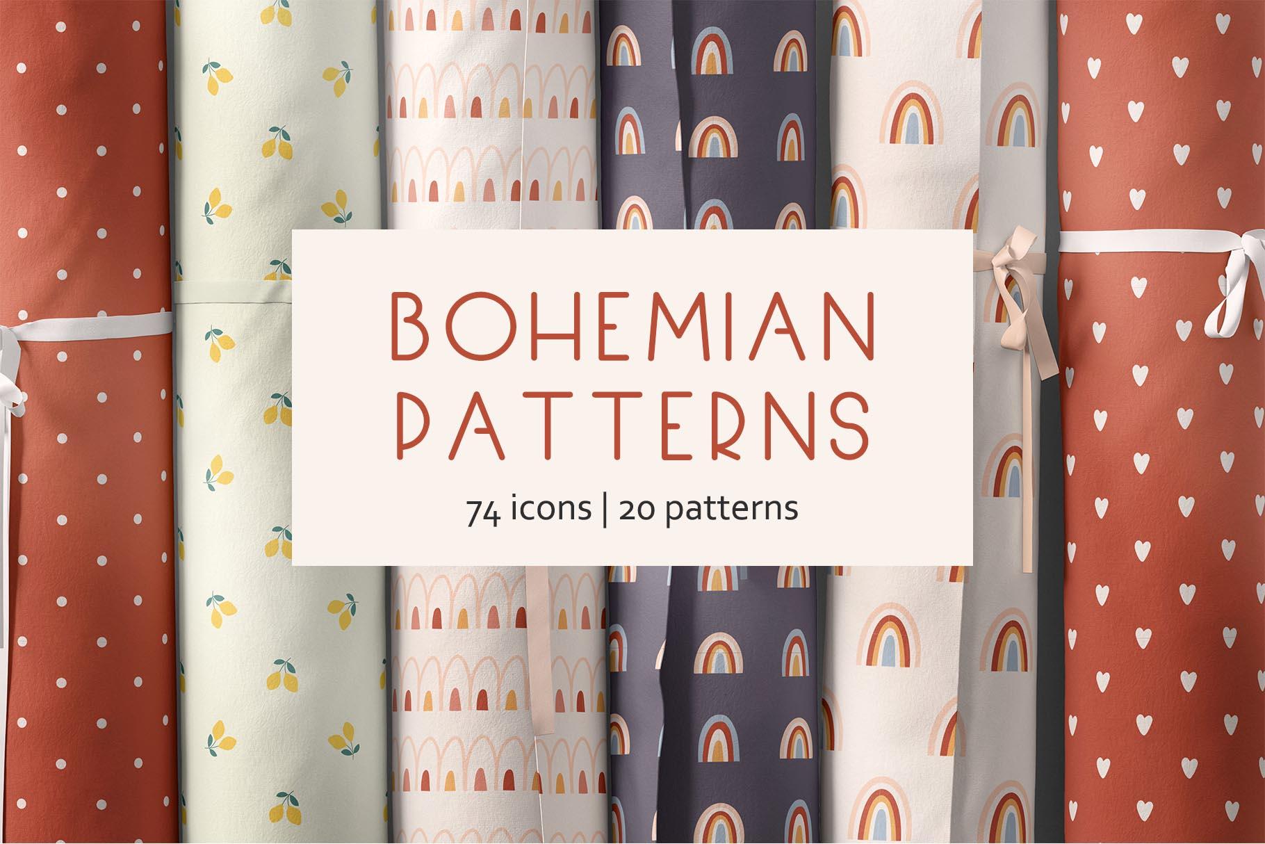 Bohemian patterns example image 1