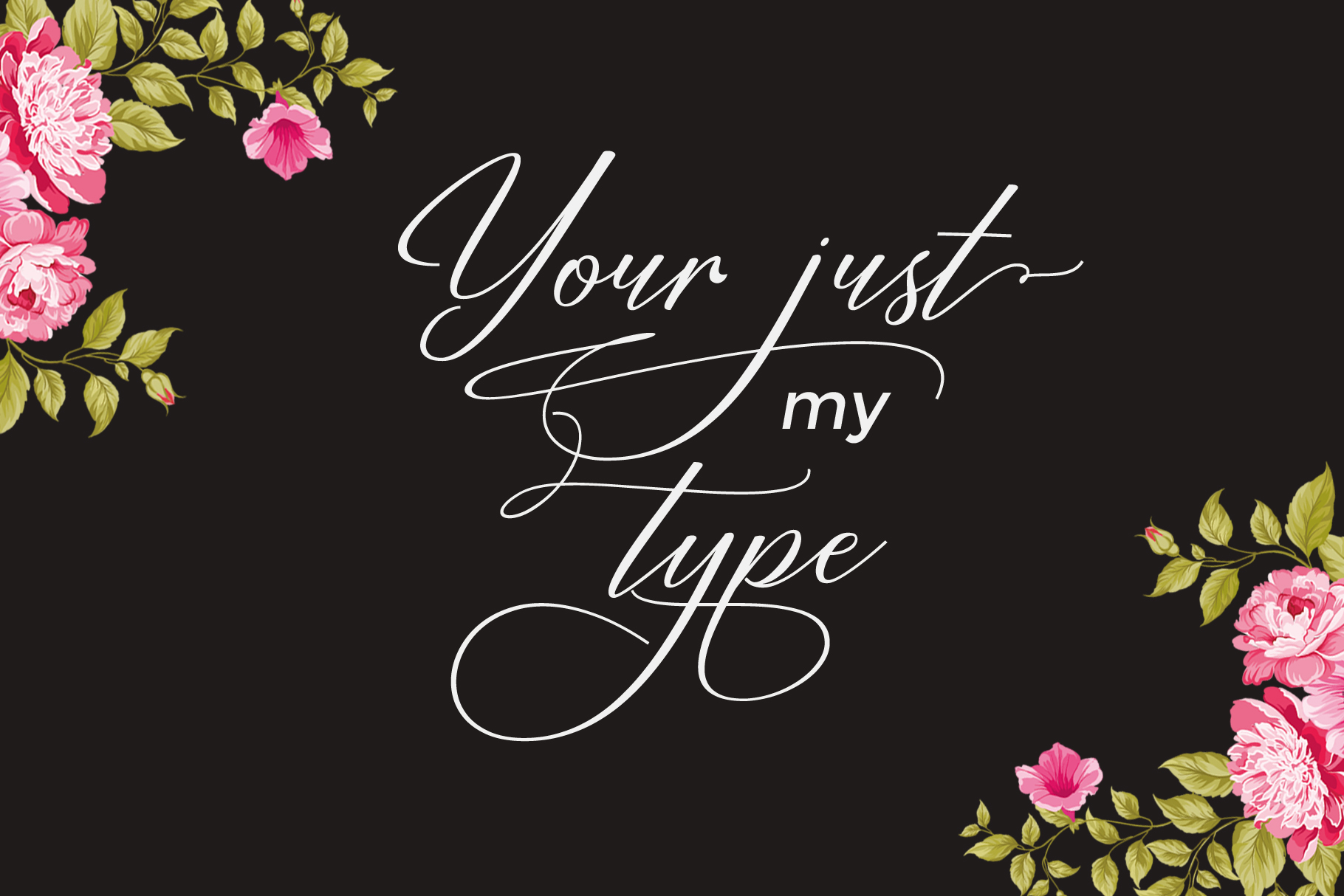 Restiany Script | Sweet Font example image 3