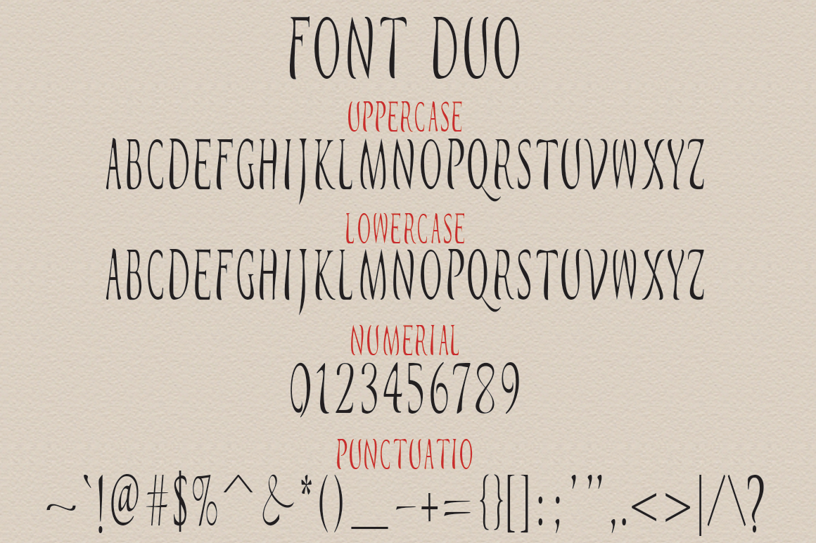 Busnight Font Duo example image 10