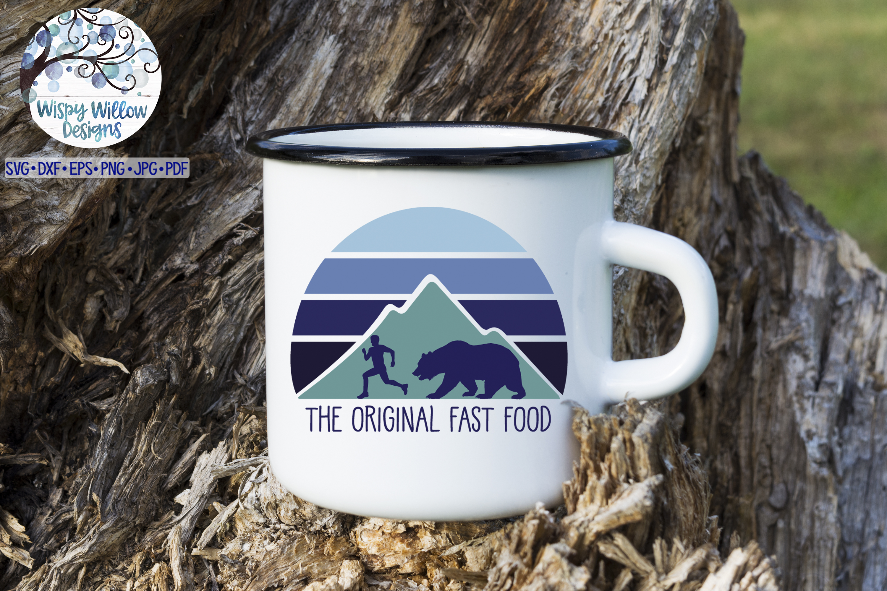 The Original Fast Food SVG   Funny Camping SVG Cut File example image 2