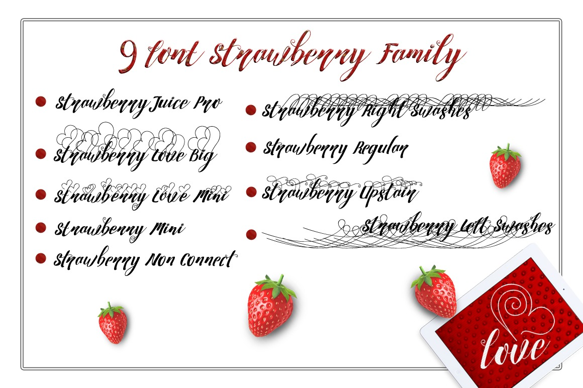 Strawberry Family example image 2