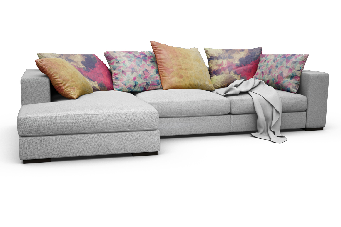 Sofa-Pillows Mockup example image 10