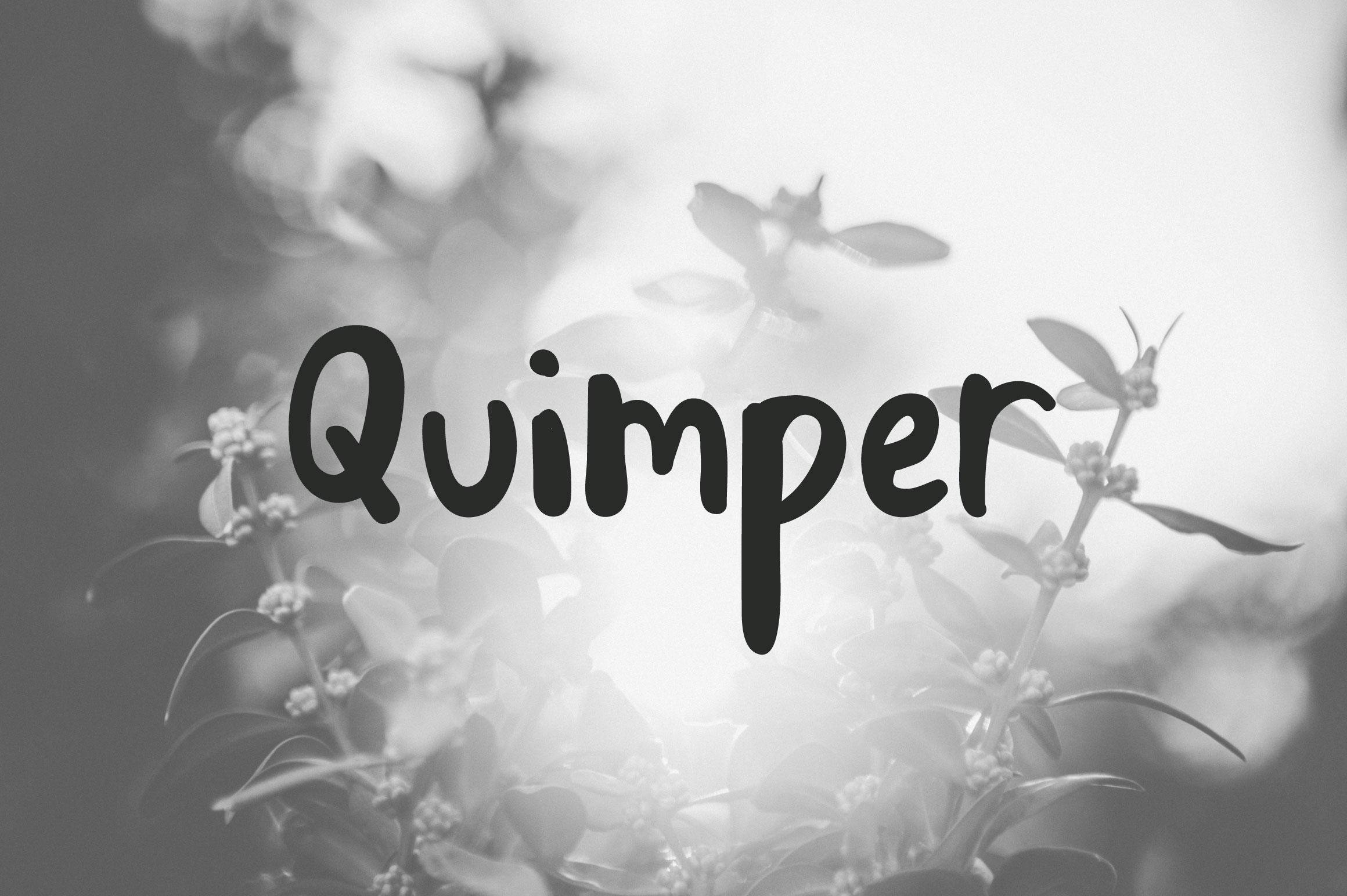 Quimper | Friendly Sans Serif example image 1