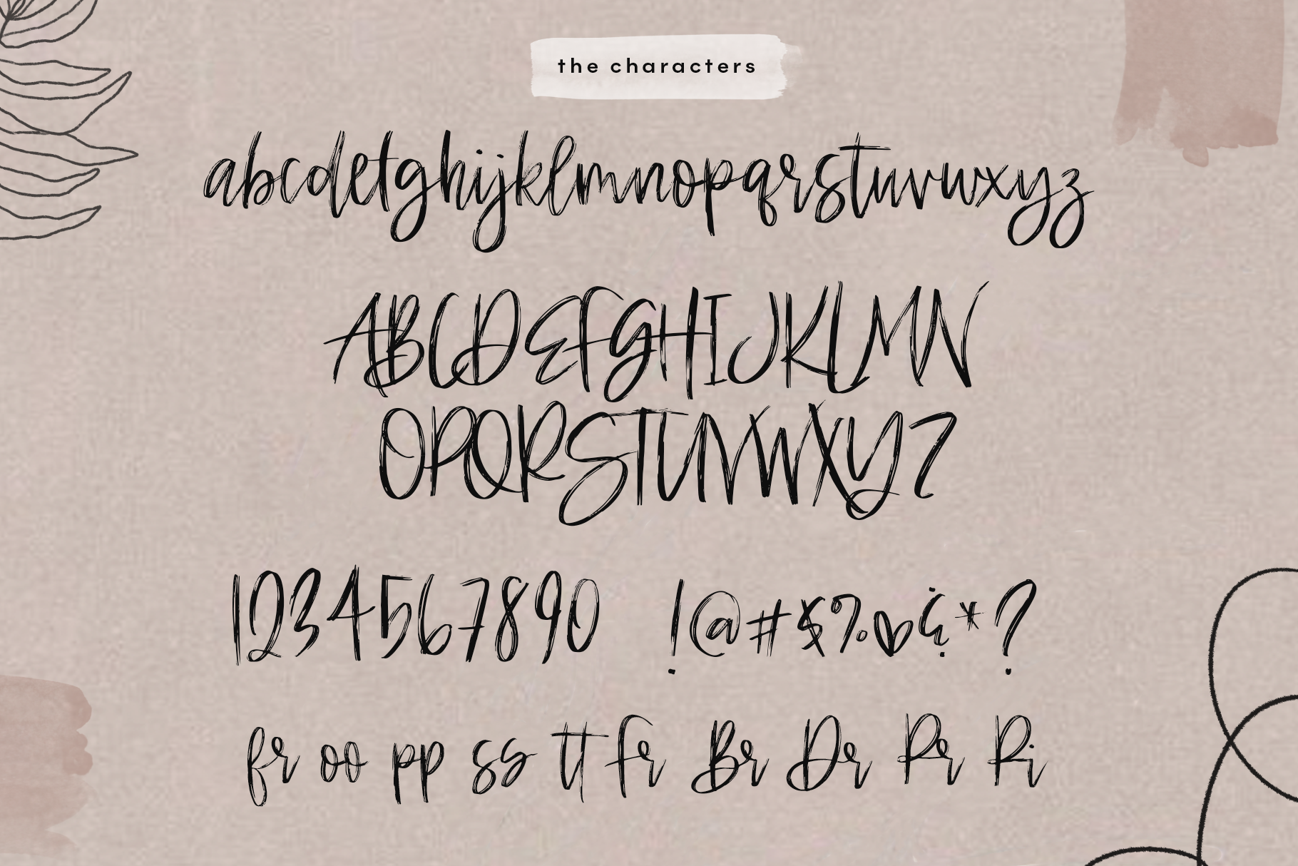 Hey Style - A Handwritten Brush Font example image 15