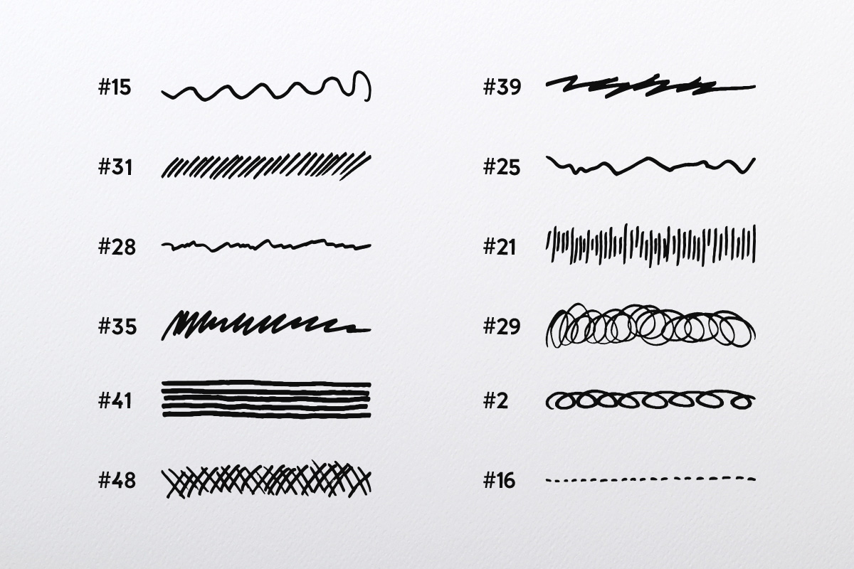 Doodle Brush Collection example image 5