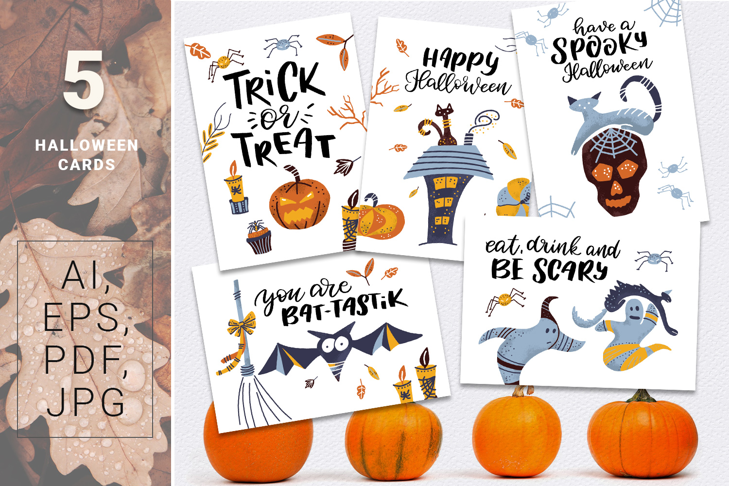 BOO! - Halloween design kit example image 5