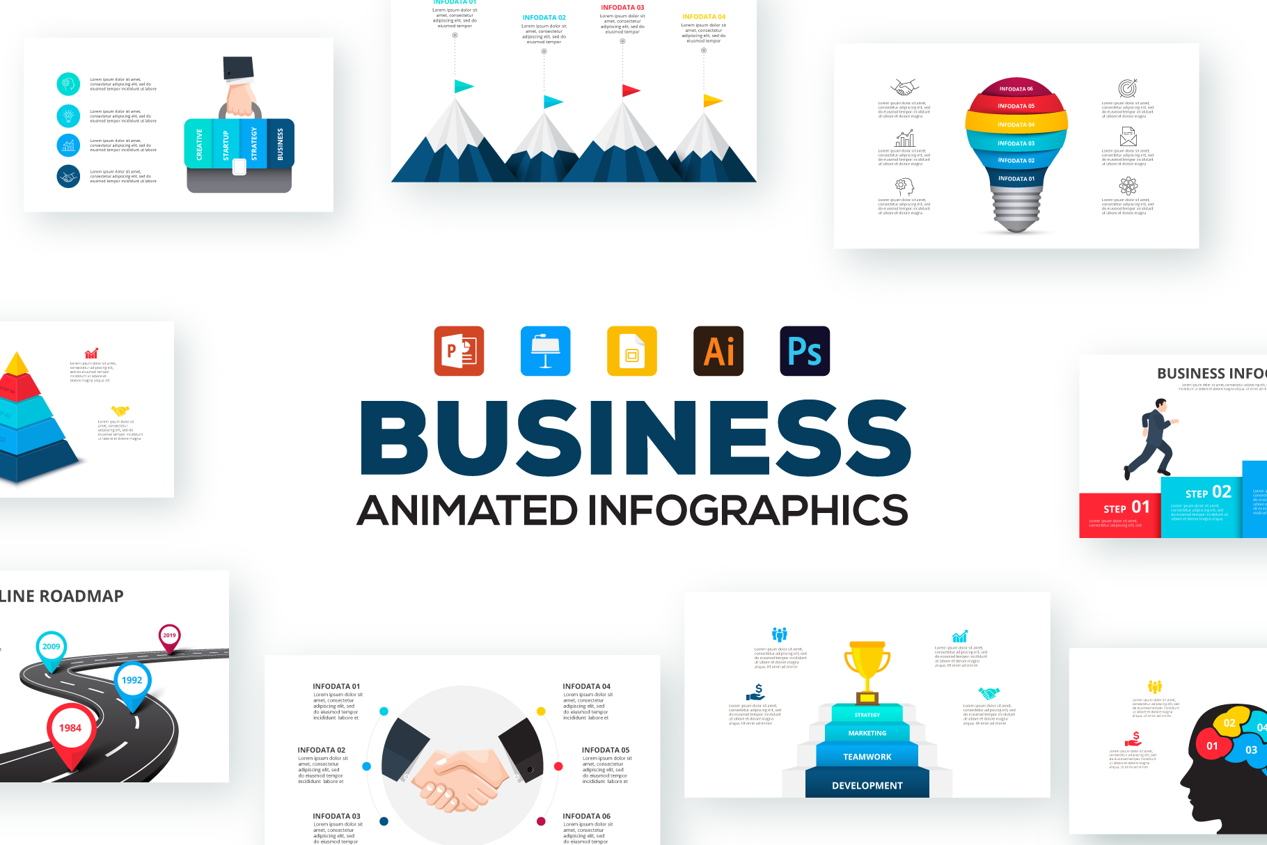 Business Infographic Presentations  282174