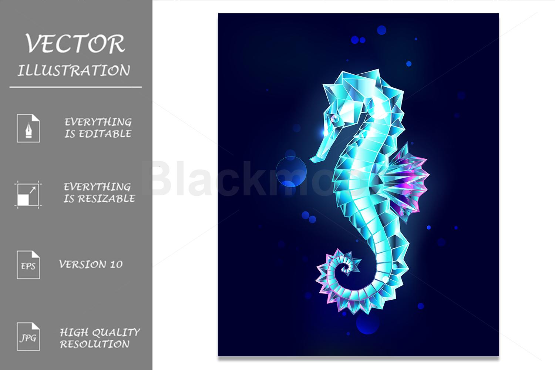Ice Seahorse example image 1