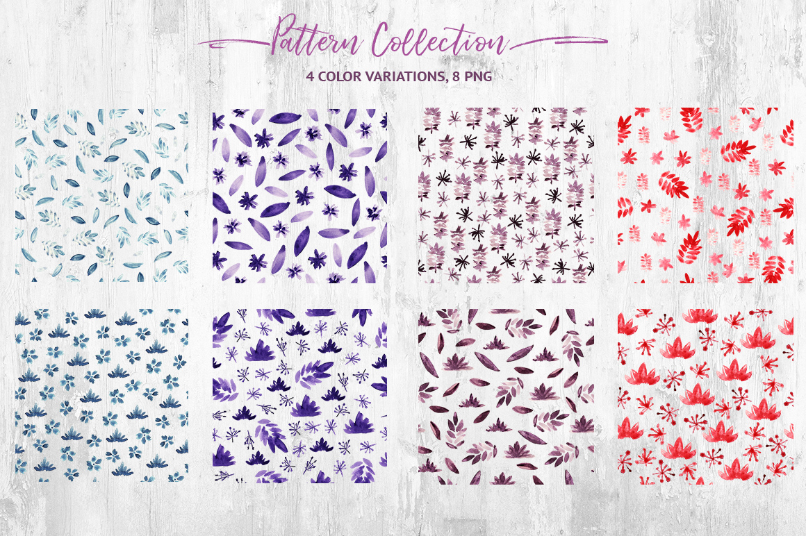 Watercolor Ribbon Collection example image 4