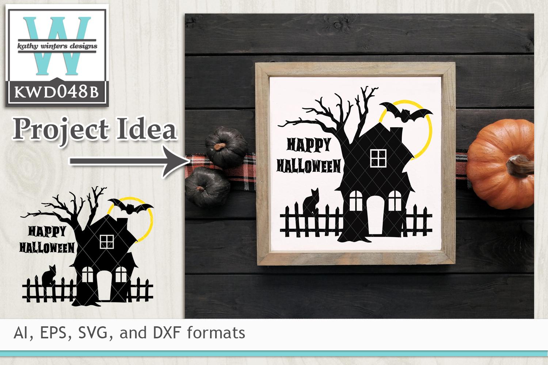 Svg Halloween Haunted House