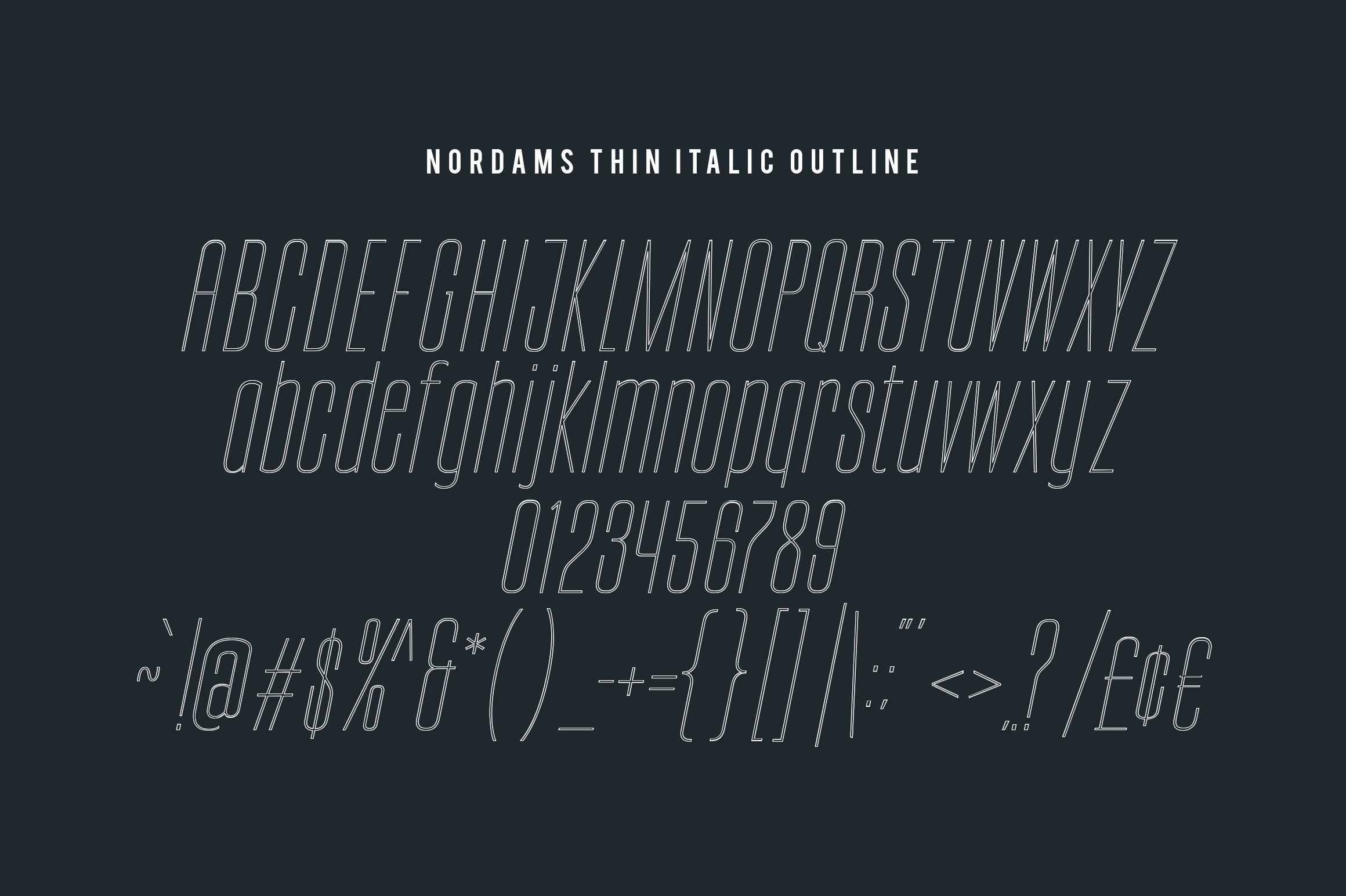 NORDAMS - Sans Serif example image 18