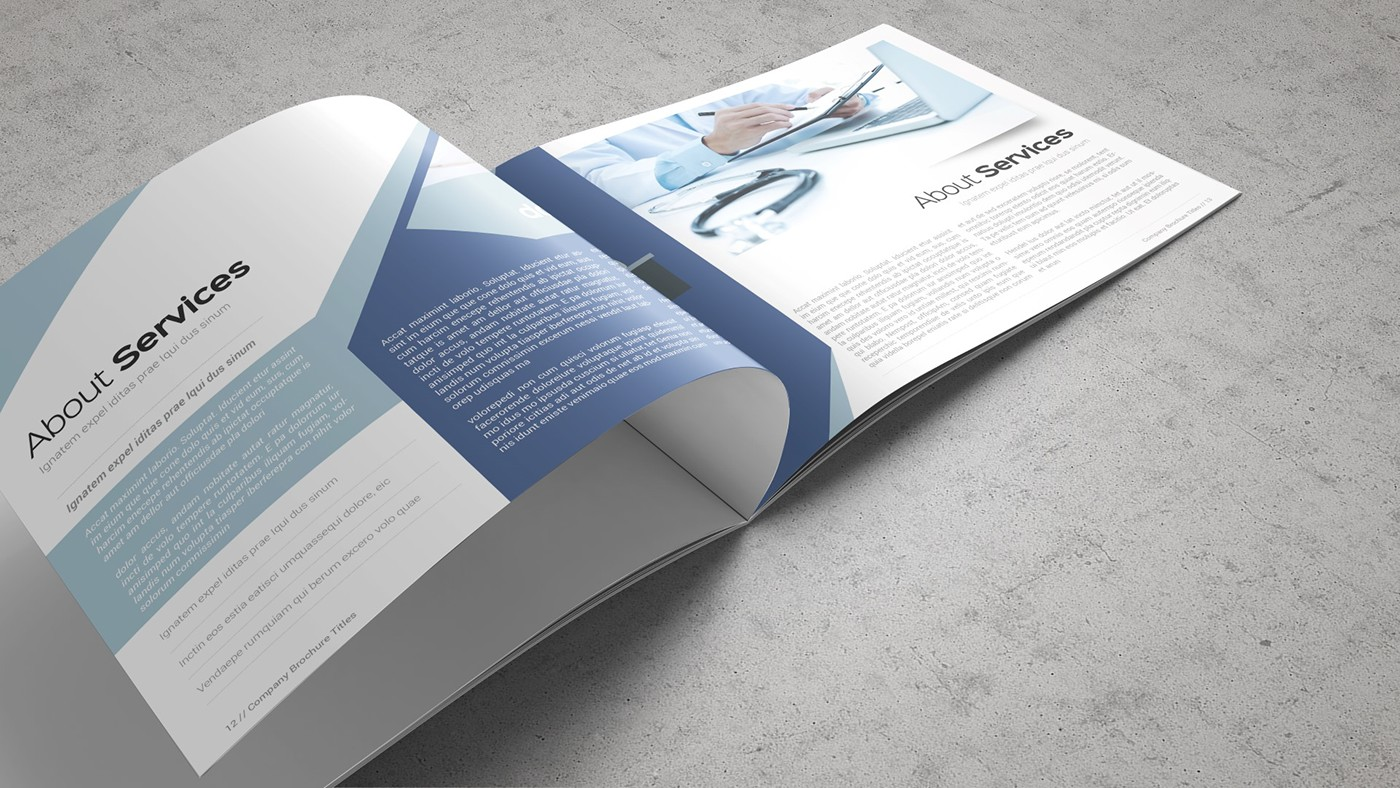 Health & Care Brochure Template example image 4