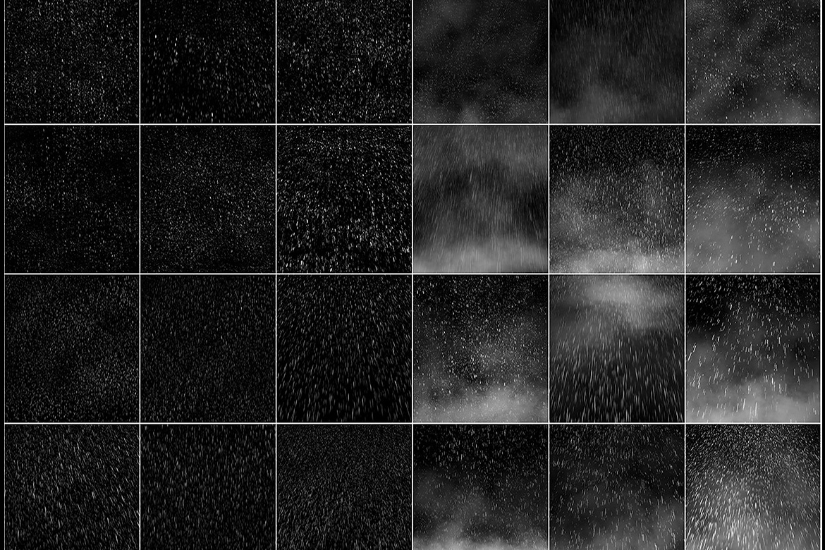 50 Rain Overlays example image 4