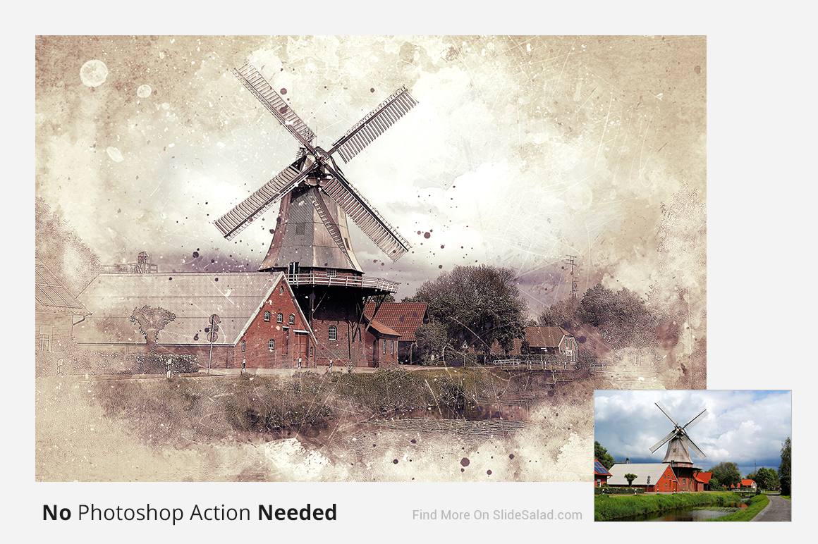 Vintage Art Photoshop Mock-ups example image 10