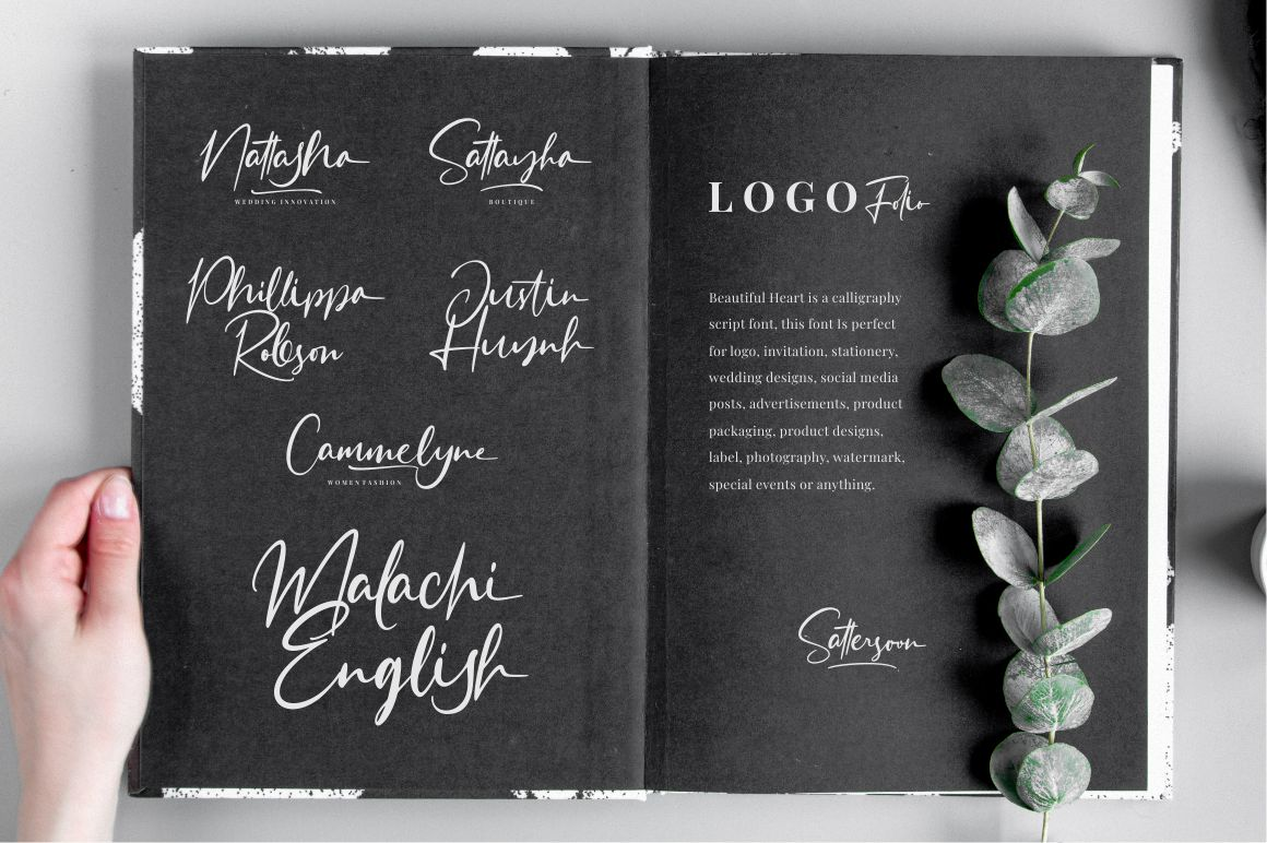 Sattersoon - Modern Script Font example image 9
