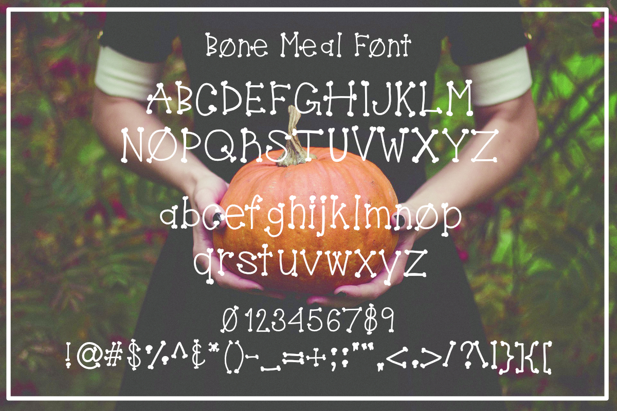 Bone Meal Font example image 2