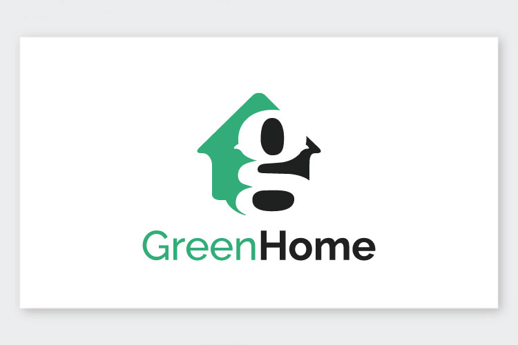 Green Home Letter G Logo example image 1
