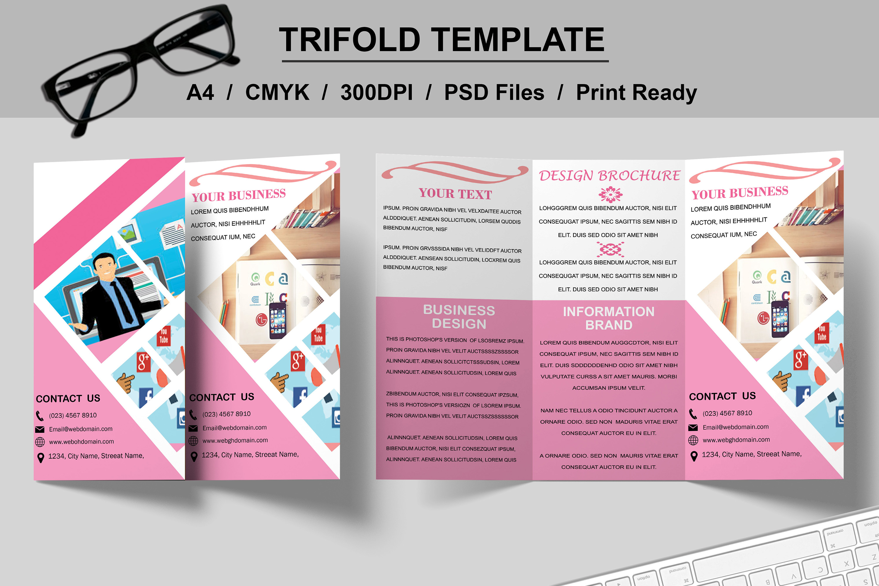 Trifold Brochure Template example image 7