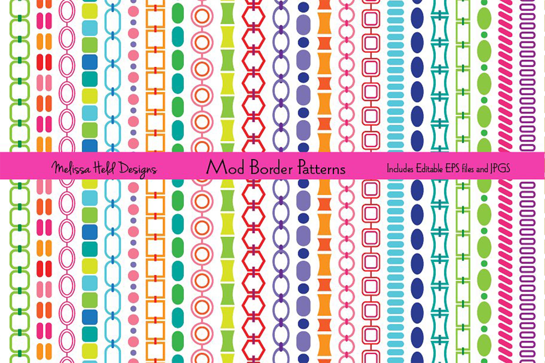 Mod Border Patterns example image 1