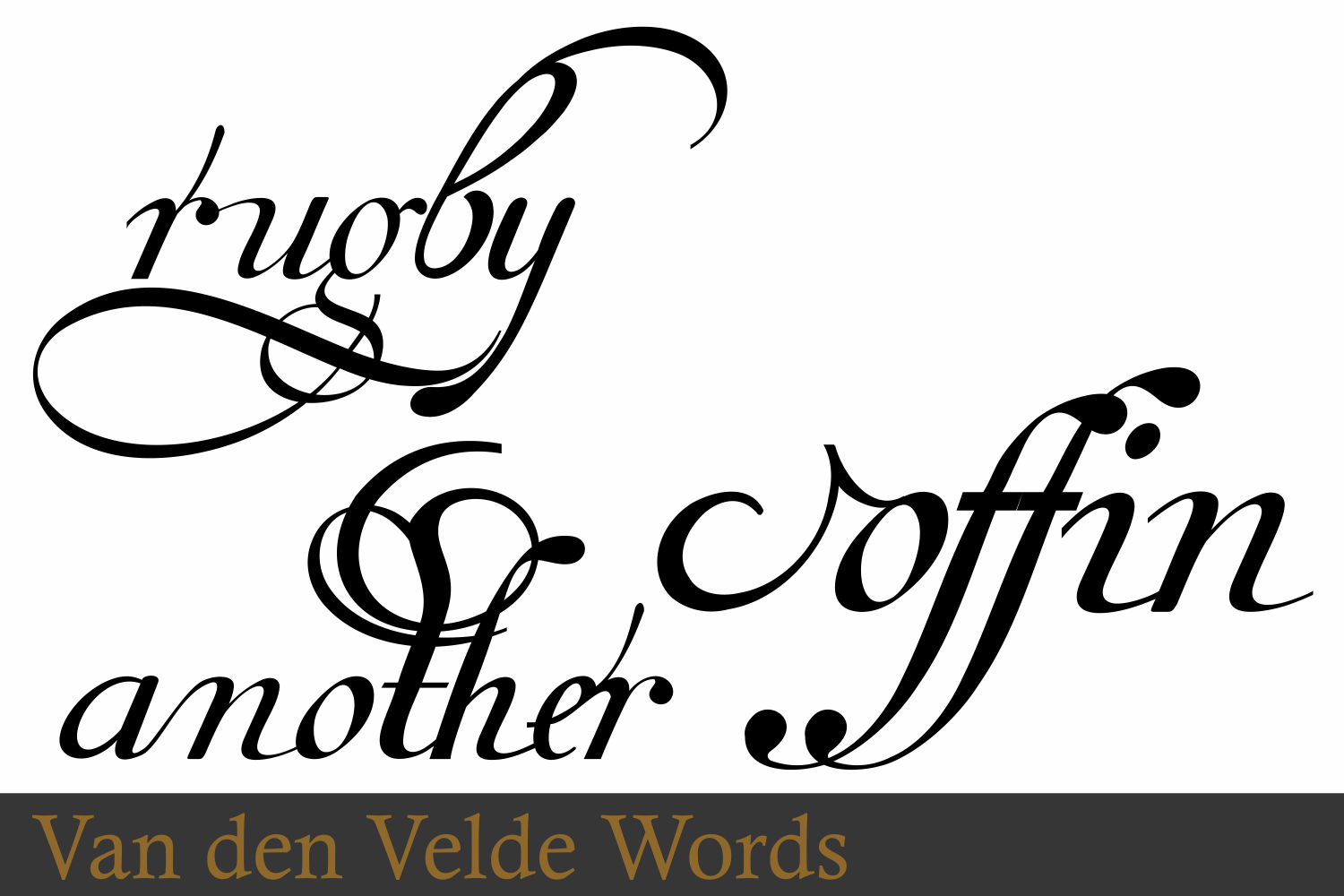 Van Den Velde Words example image 9