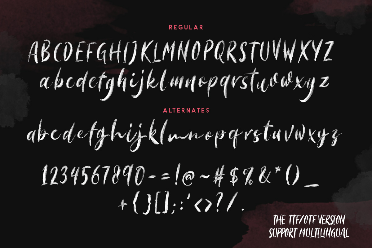Morriles - SVG Font example image 9