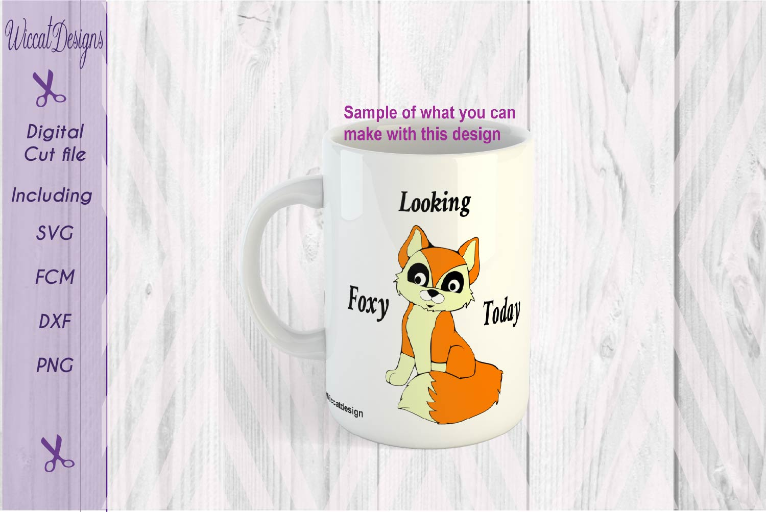 Fox boy svg, Cute clever svg, Woodland svg, animals cut file example image 2