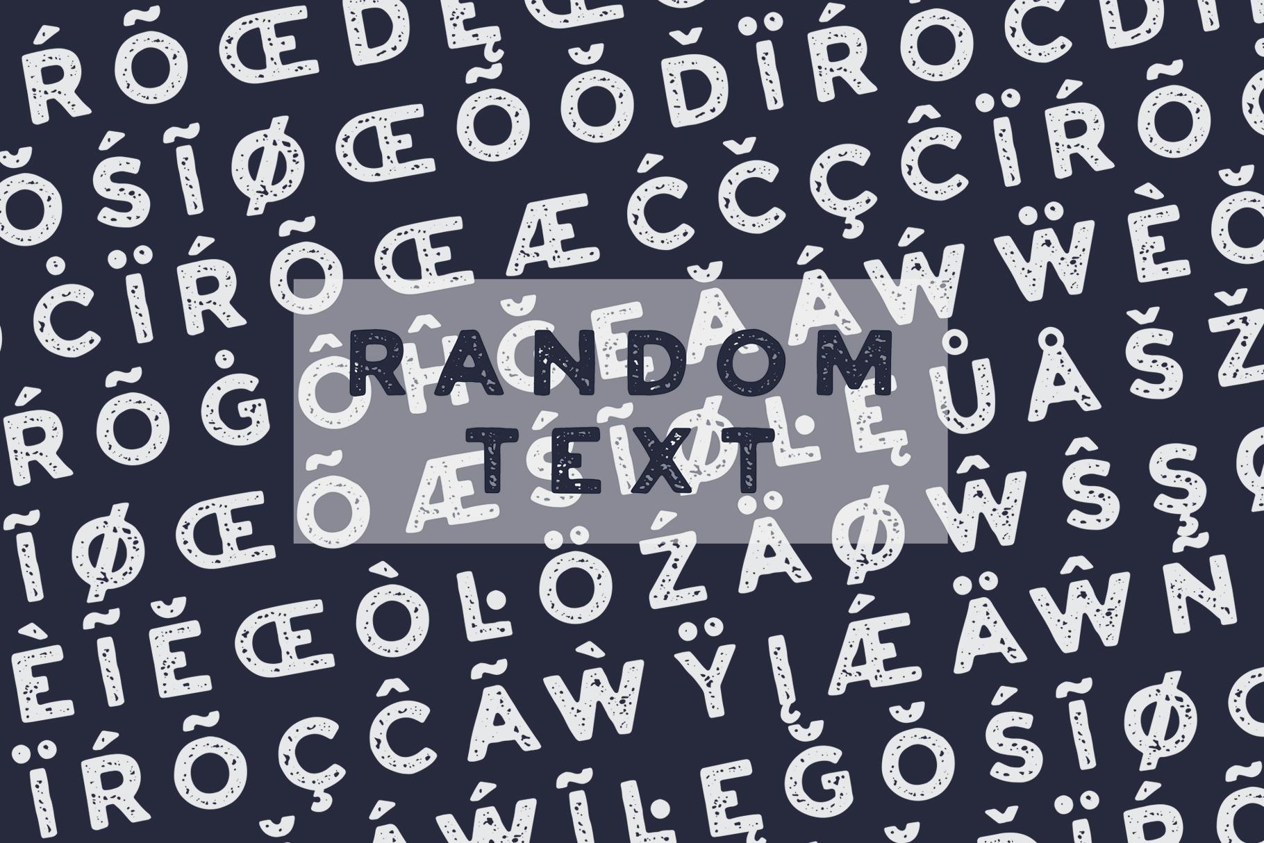 HURSTON TYPE example image 6