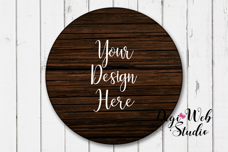 Wood Signs Mockup Bundle - 9 Piece Farmhouse Wood Signs 2 example image 9