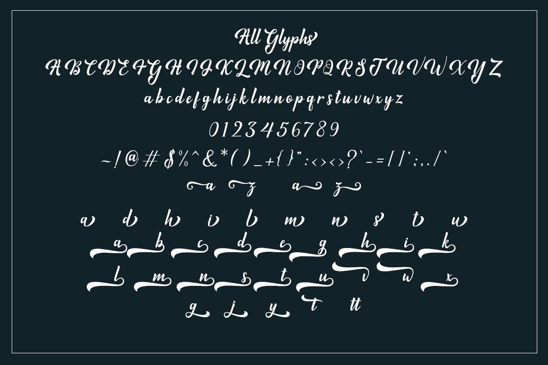 Minthas Script example image 5
