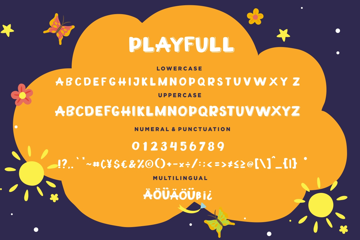 Playfull Joyful Sans example image 7