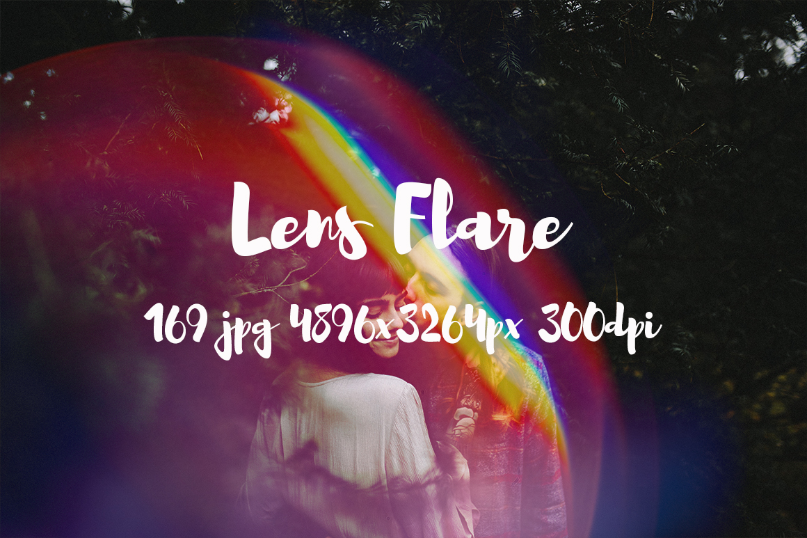 Lens Flare Pack example image 1