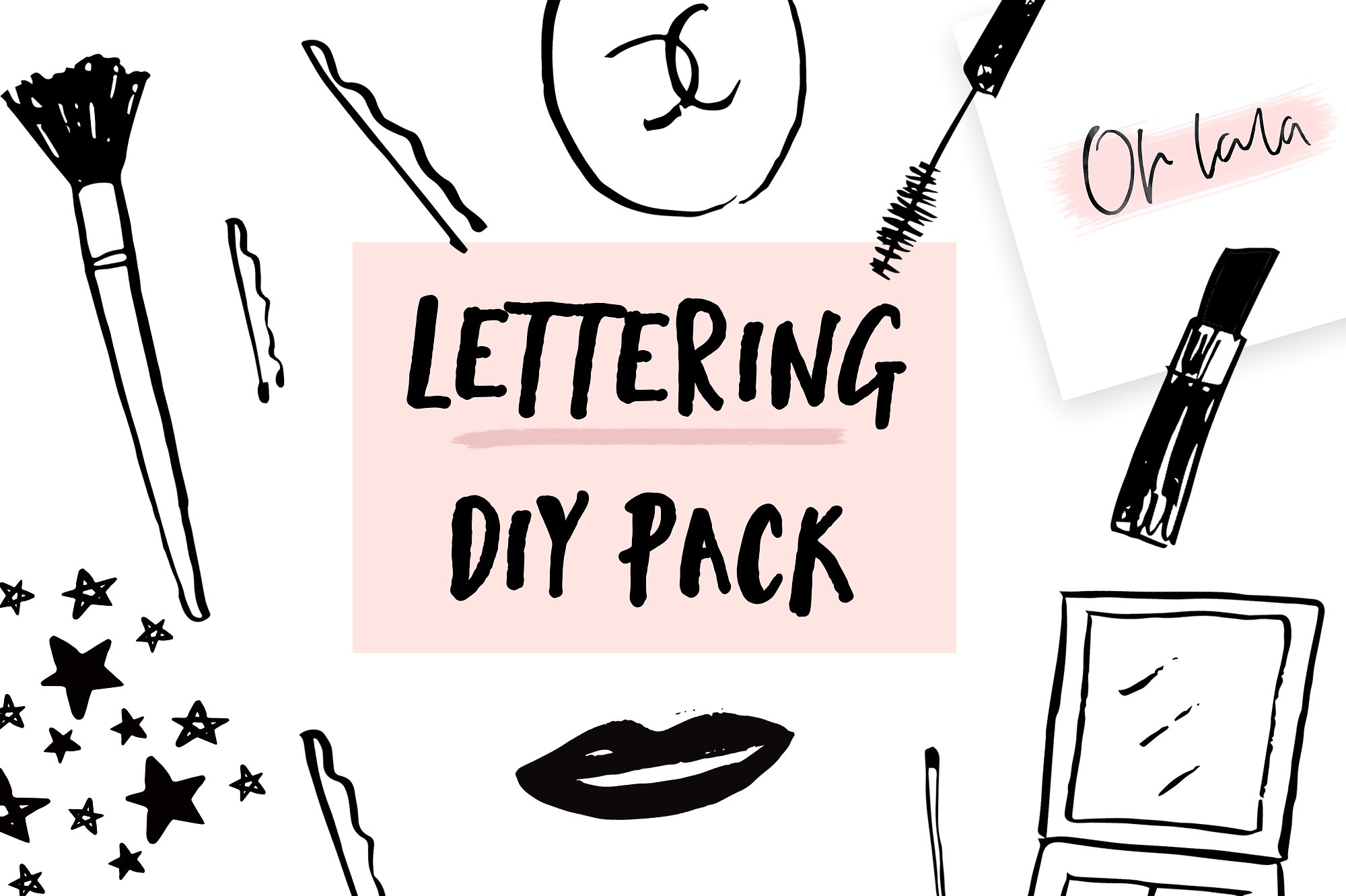 Lettering diy pack example image 10