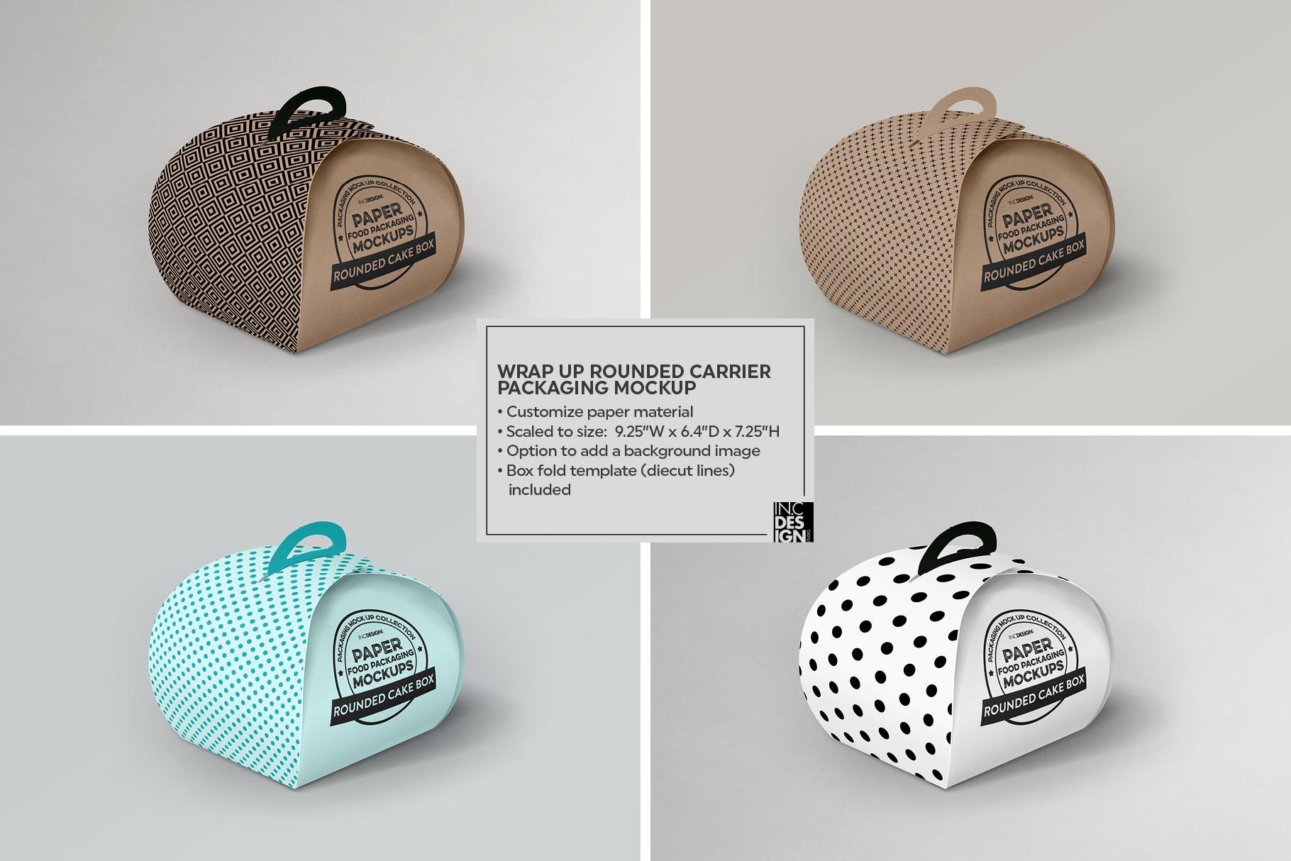 VOL.2 Food Box Packaging MockUps example image 20