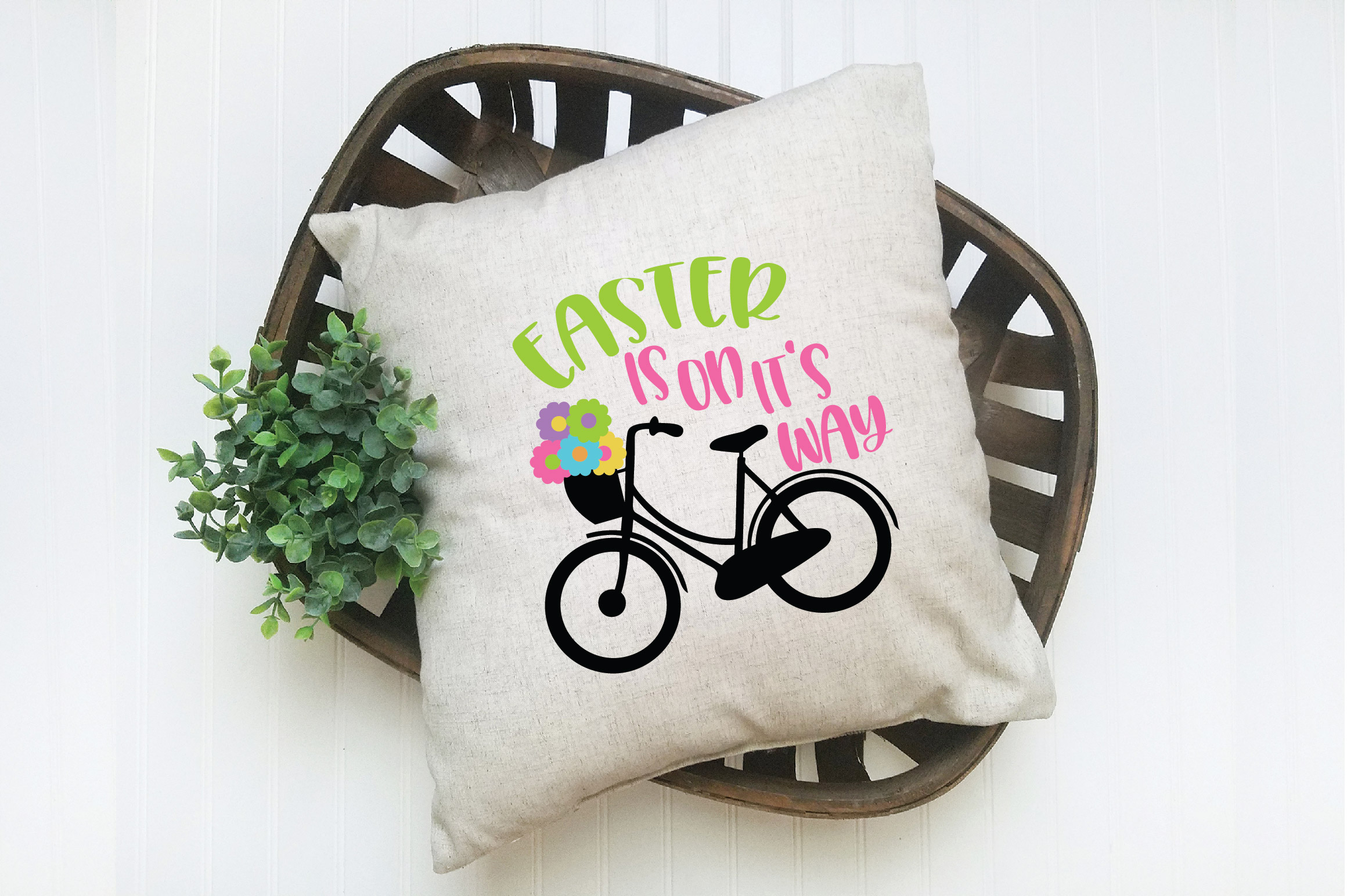 Easter SVG Cut File - Easter is on it's way SVG DXF EPS PNG example image 5