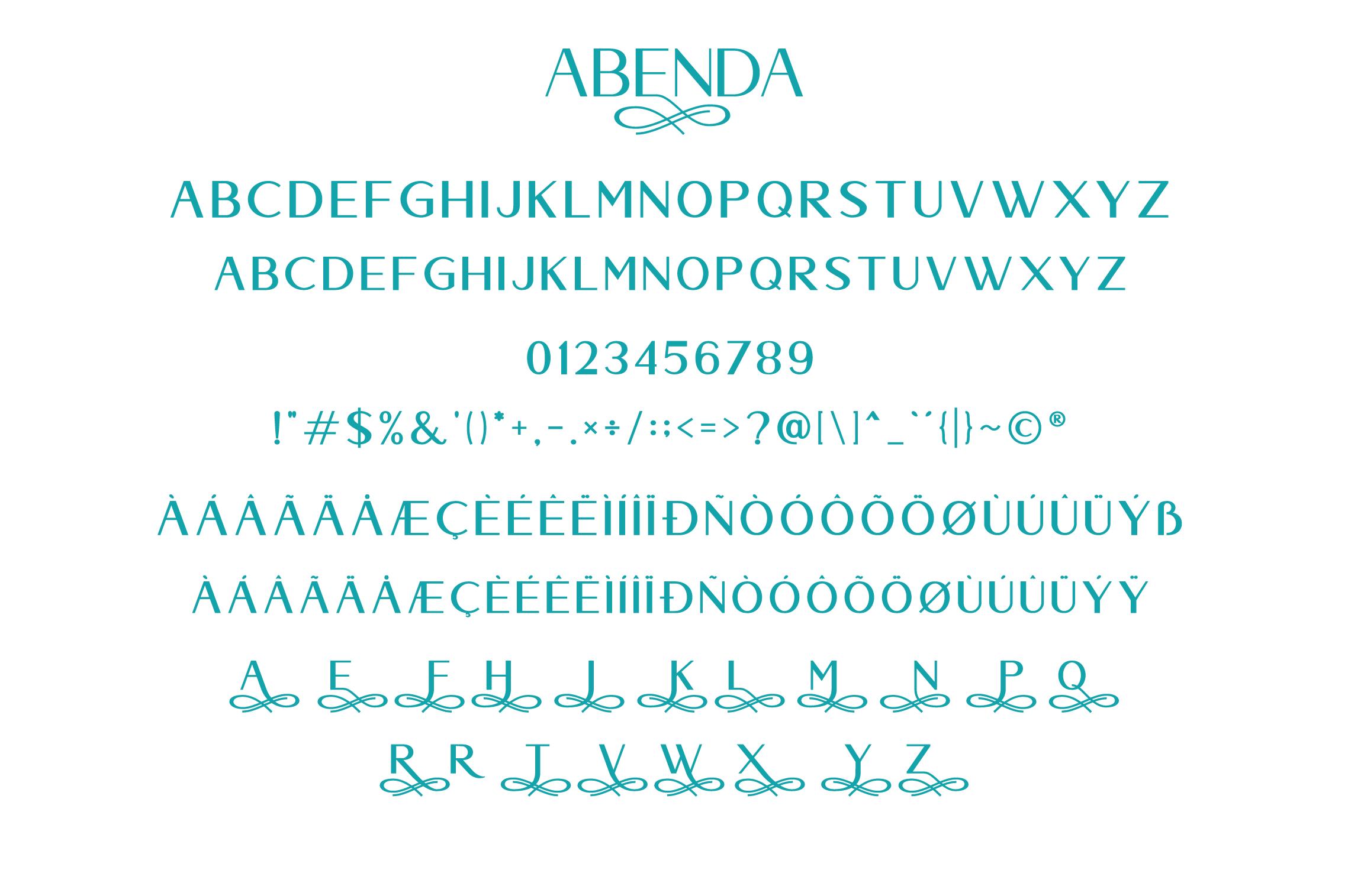 Abenda - Elegant Typeface example image 6