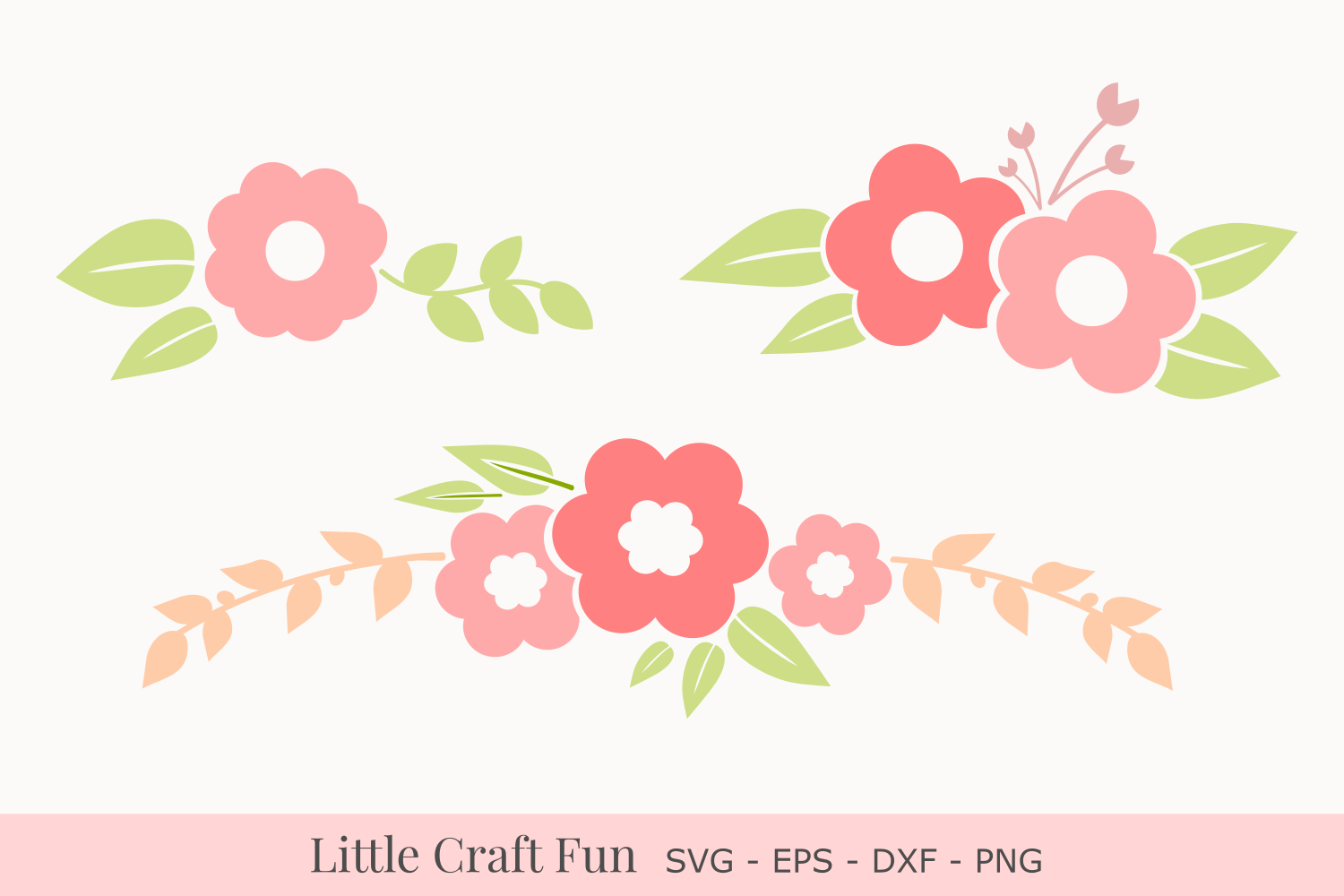 Flowers Svg, Florals Svg, Flower Bouquets Svg example image 1