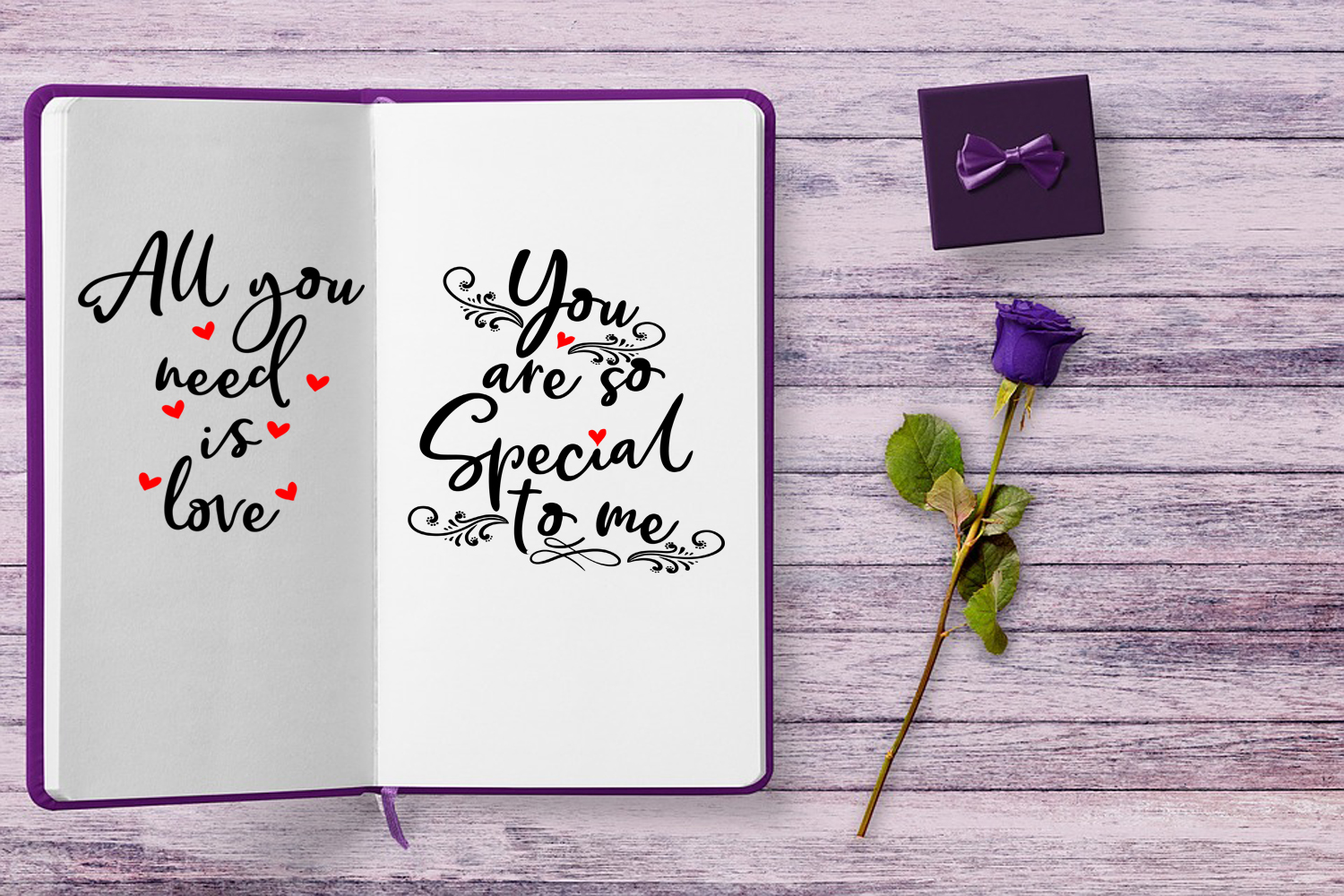 Cute Valentines Overlays-Valentines Day Overlay Collection example image 7