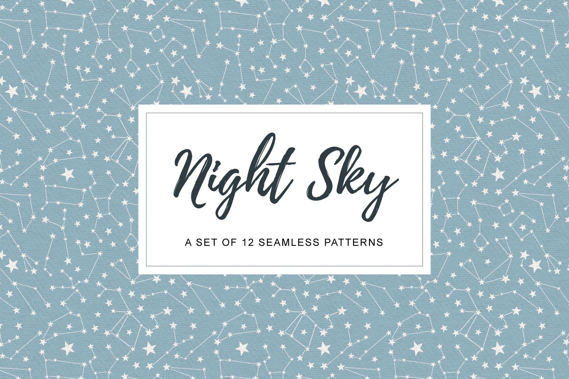 Night Sky Patterns example image 1