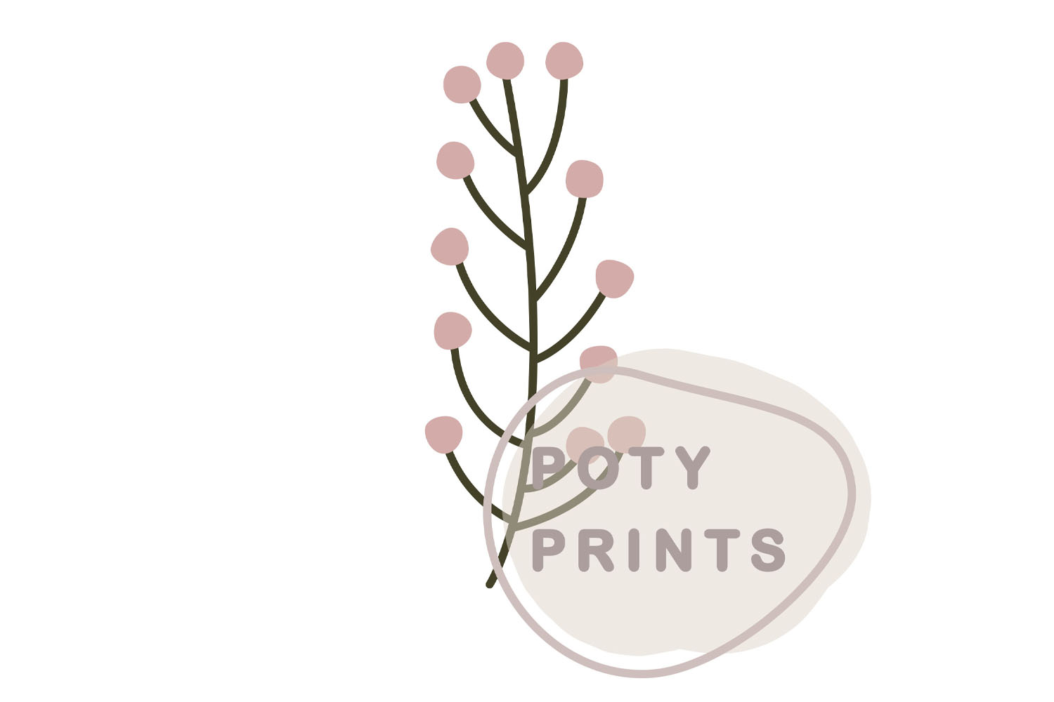 Laurel leaf clipart and bird set example image 2