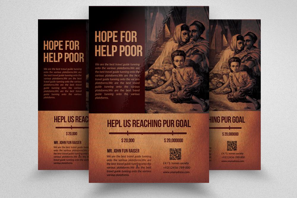 6 Charity & Donation Flyers Bundle example image 5