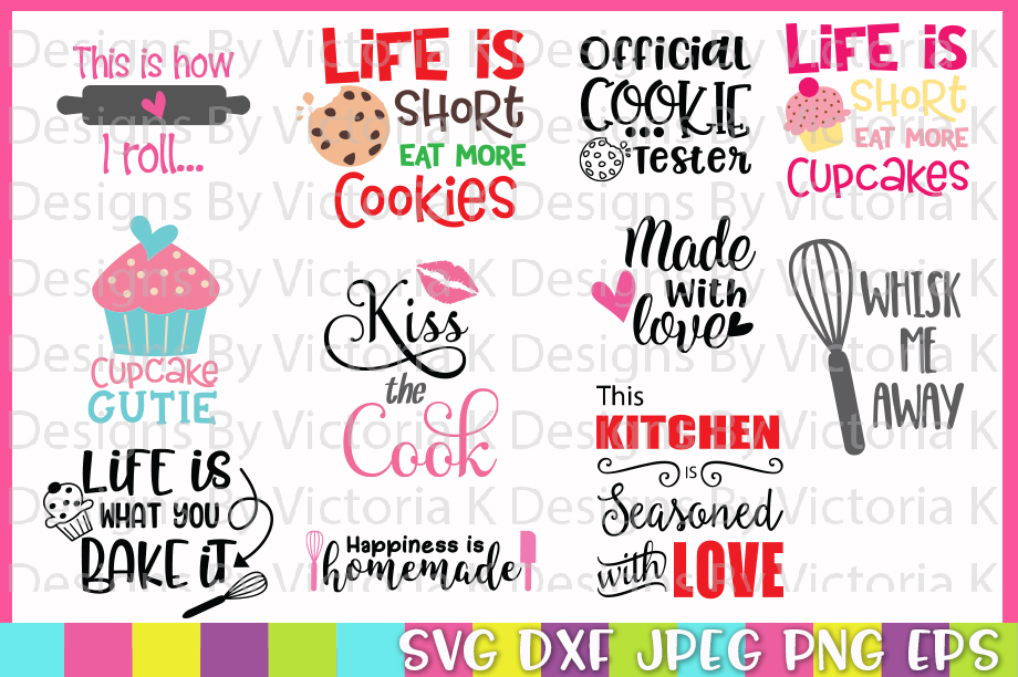 The Huge SVG Bundle, 500 Cutting files, SVG, DXF,PNG example image 11
