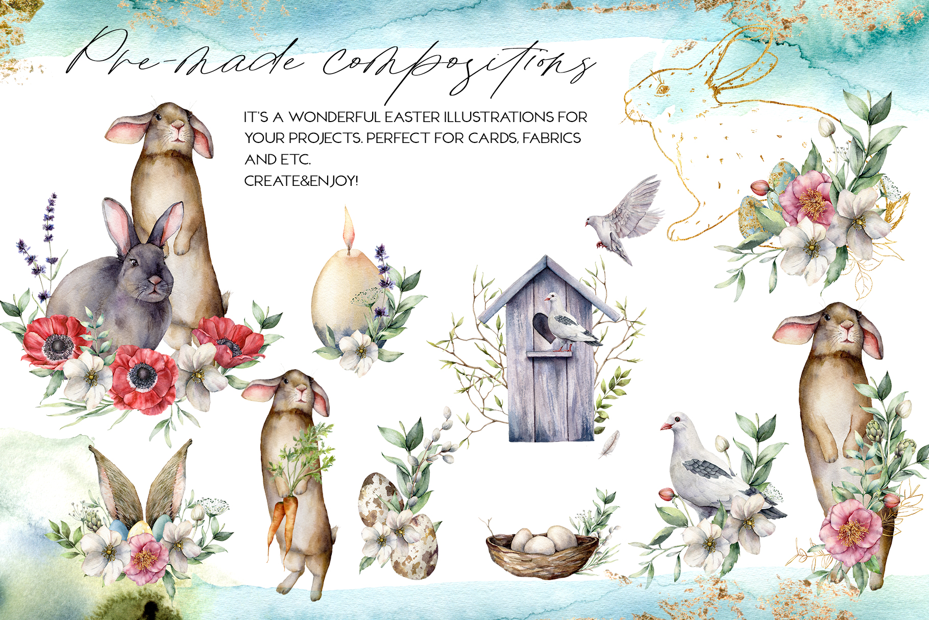 Spring song. Graphic collection example image 3