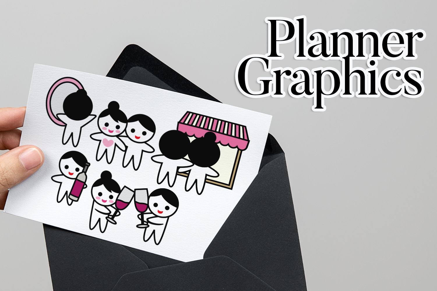 Holidays Bundle - Planner Graphic Illustrations example image 11