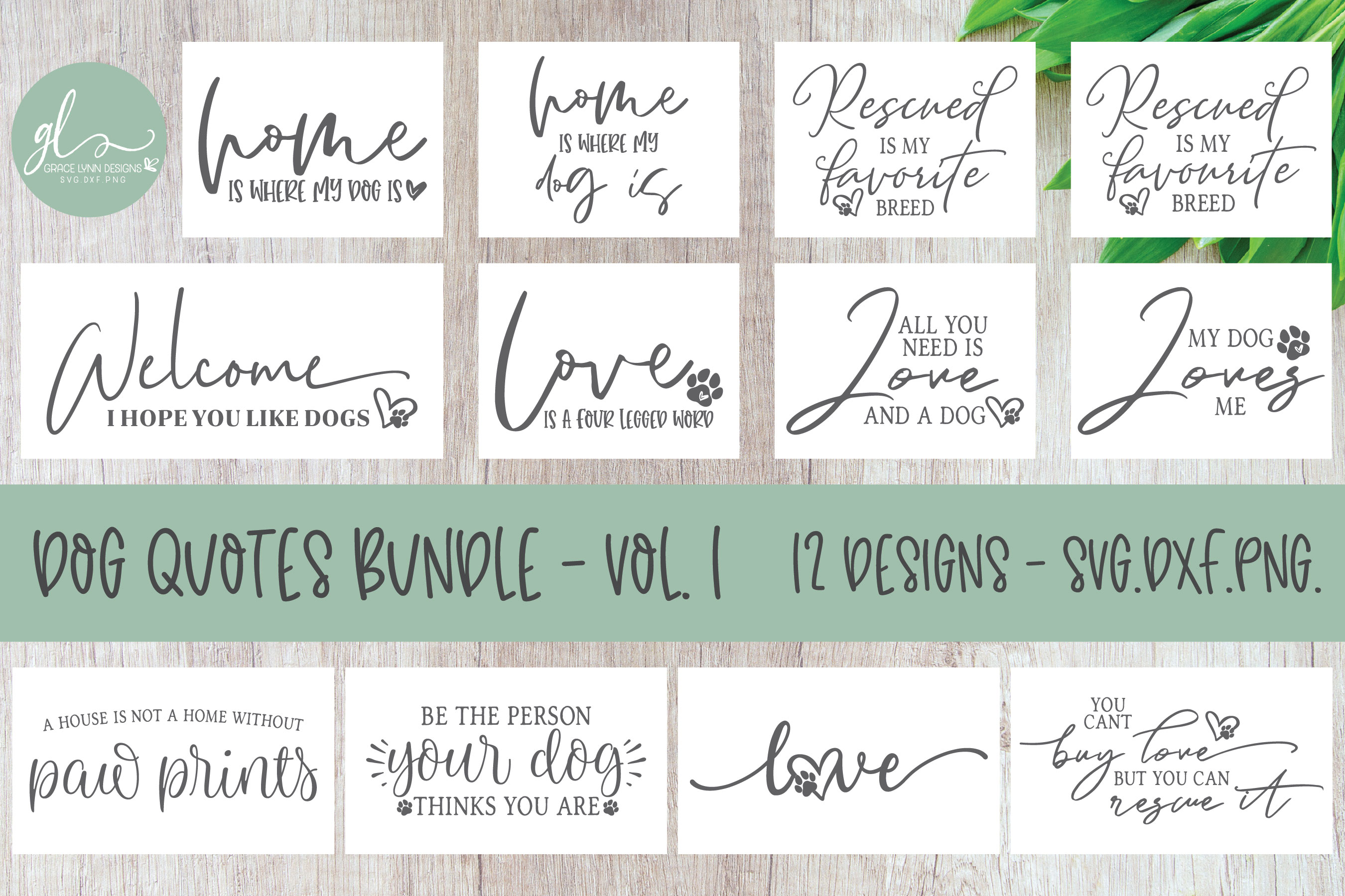 Huge Bundle Of Bundles - 160 SVG Designs - 13 Mini Bundles example image 4