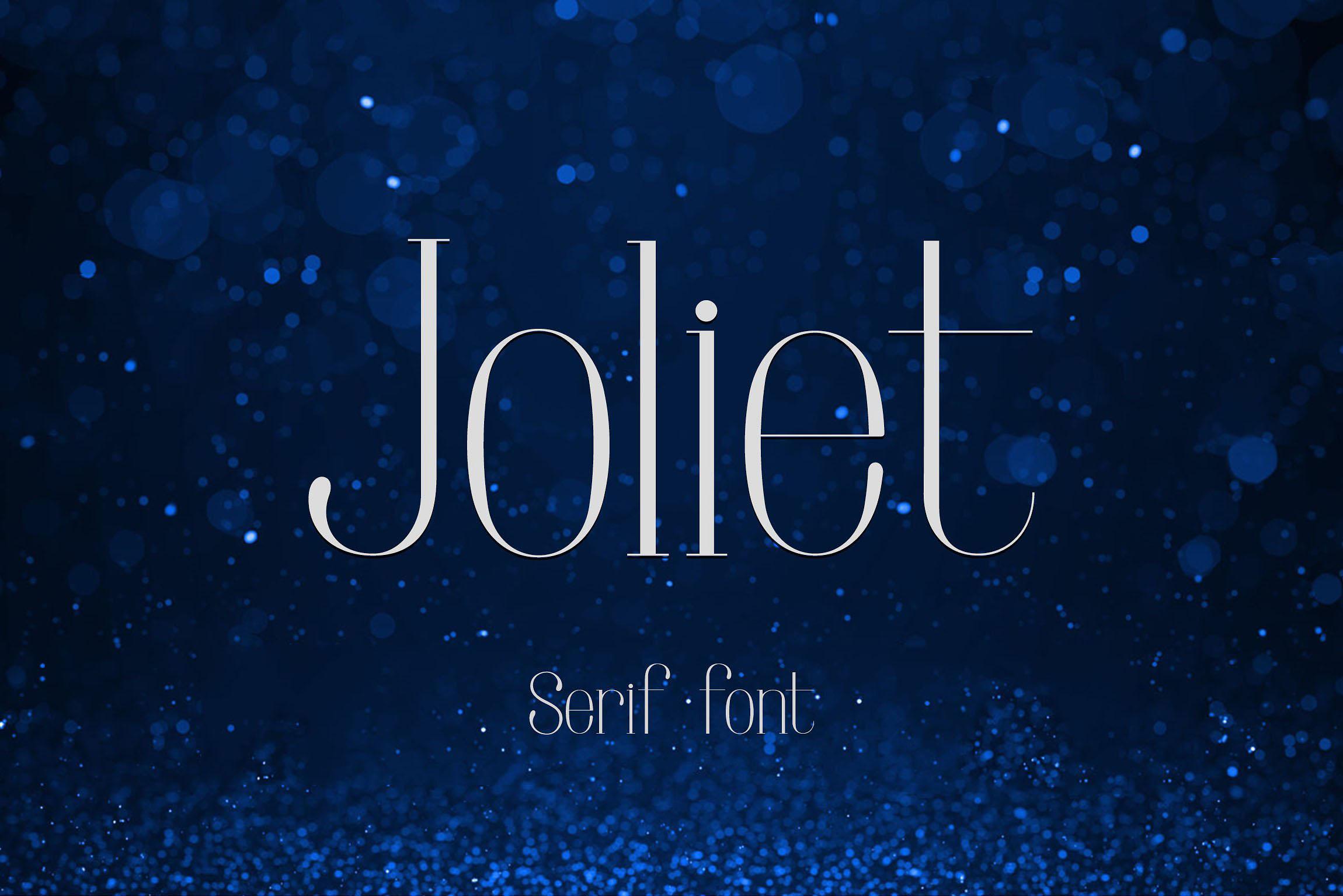 Joliet - Font example image 6