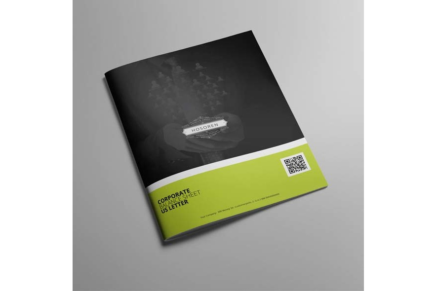 Corporate Balance Sheet US Letter example image 2